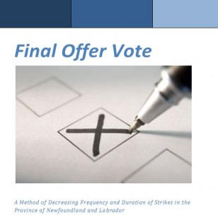 Final Offer Vote Statutory Provisions in NL