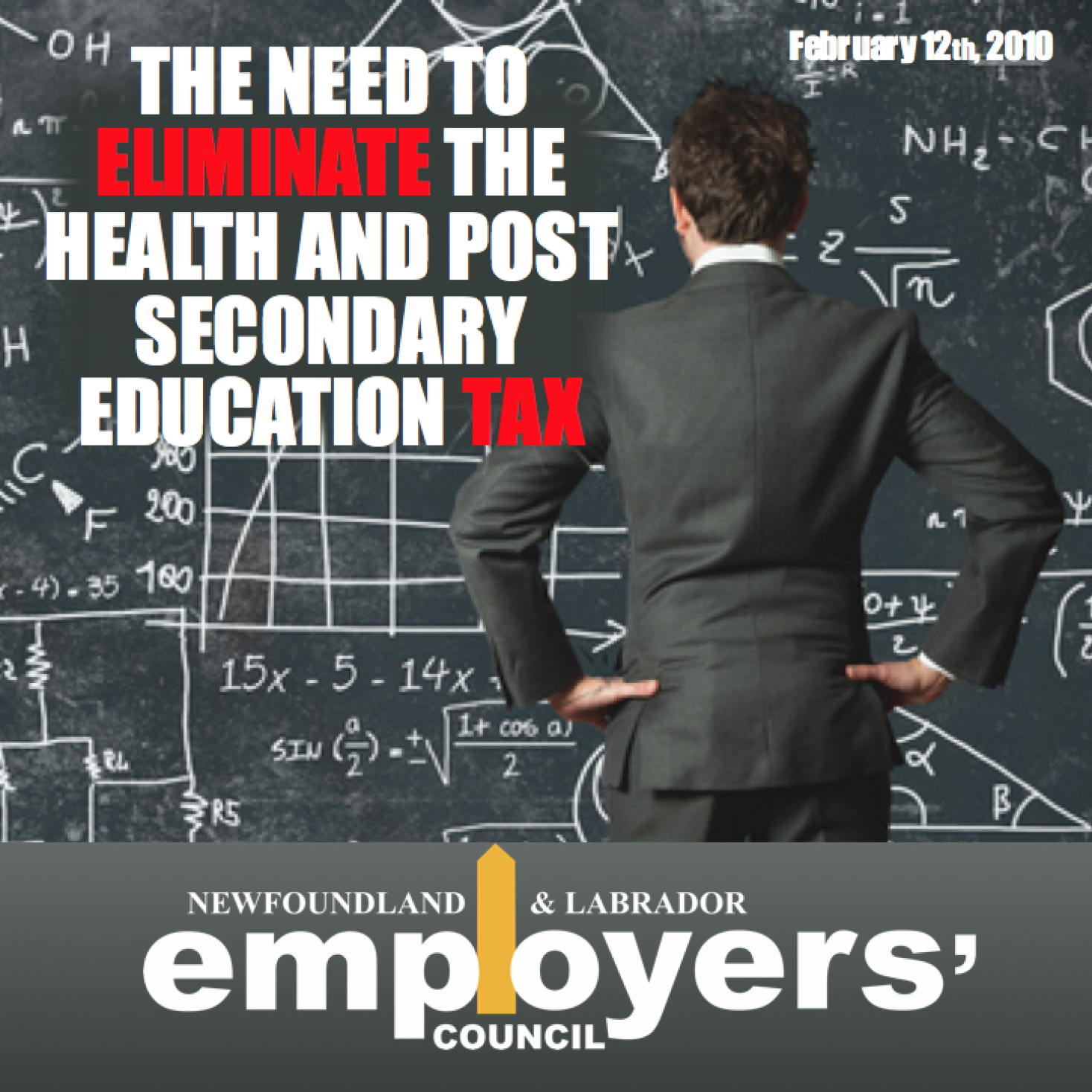 Need to Eliminate Health and Post Secondary Education Tax