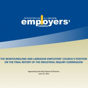 NLEC's Response to Final Report of Industrial Inquiry Commission