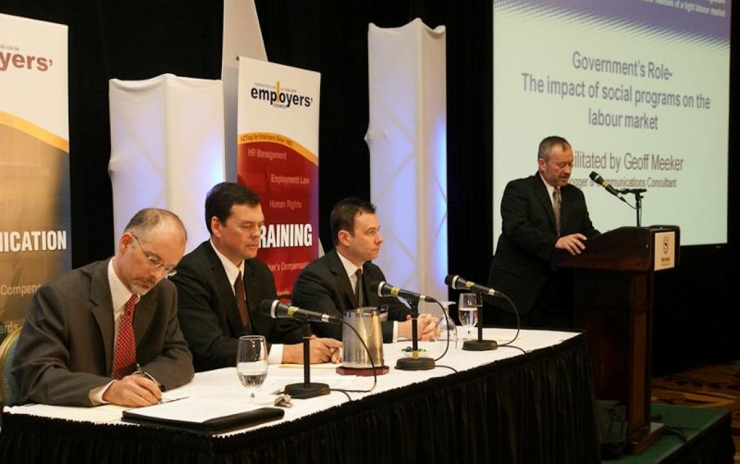 NLEC Conference panel discussion on EI creates a stir