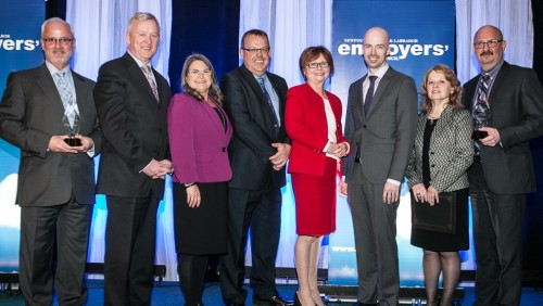 Federal Minister Judy Foote gives keynote at NLEC Employer of Distinction Awards