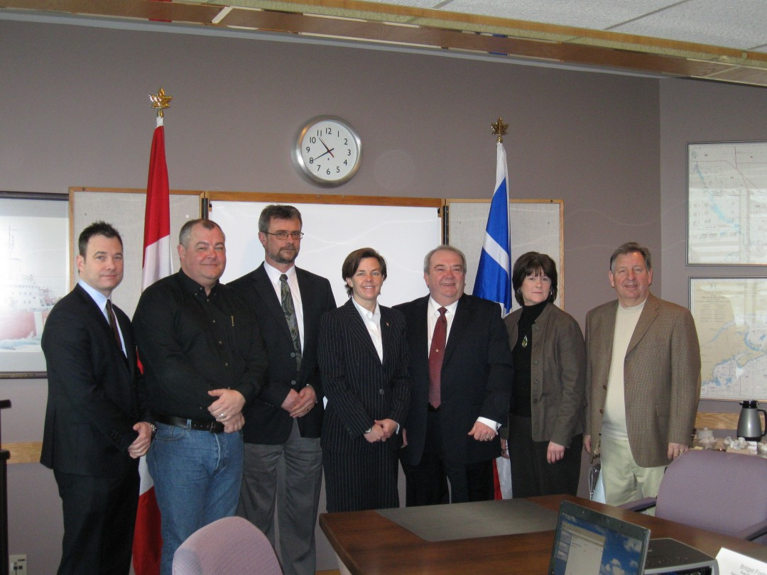 NLEC meets with Member of Parliament Kellie Leitch on Employment Insurance and Pension Reform