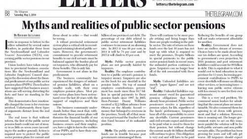 Myths and realities of public sector pensions