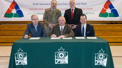 North American Occupational Health & Safety Week 2014