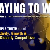 2014 NLEC Conference PLAYING TO WIN a resounding success