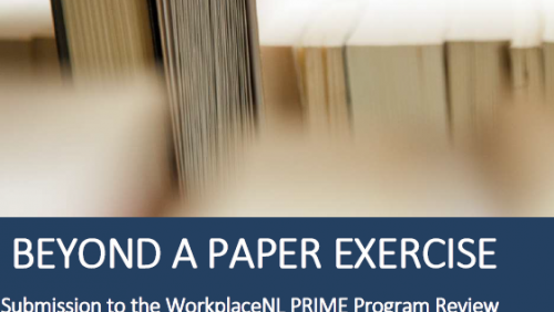 Employers' Council Calls for Changes to WorkplaceNL PRIME Program